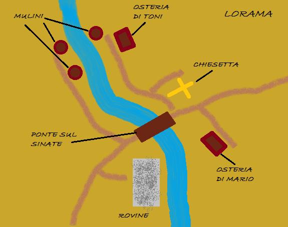 Mappa di Lorama