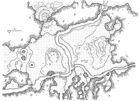 Lost River Cave (East) (with grid)