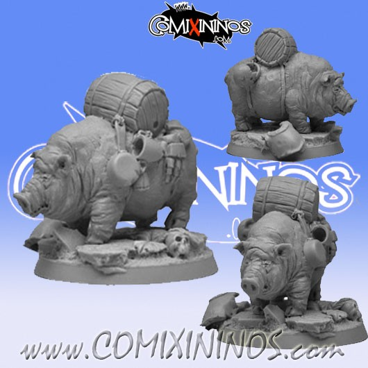 dwarves-ambulance-pig-scibor-for-blood-bowl