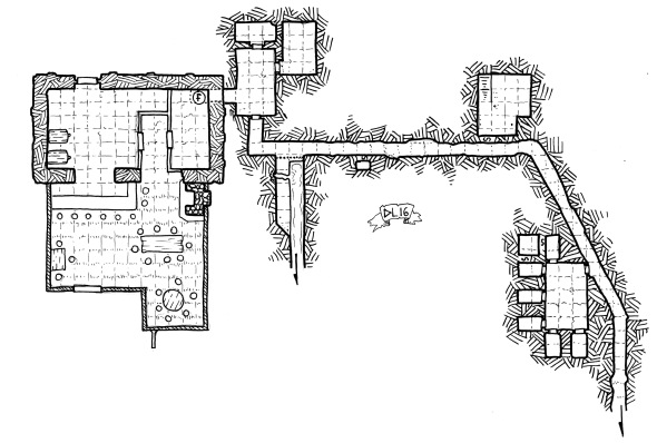 Tavern and Understructures