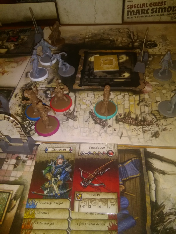 Partita a zombicide di capodanno iho 39 s chronicles for Porte zombicide