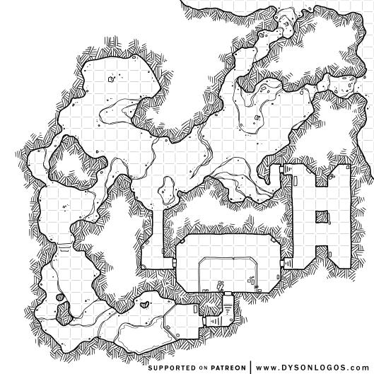 Gloomforge Caverns (1200dpi)